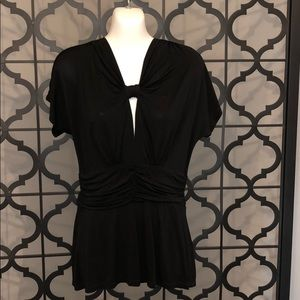 Black BCBG black blouse